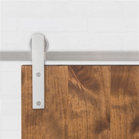 Flat Track Barn Door Hardware Huxley Sliding Door Hardware Barndoorhardware