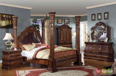 marble bedroom sets marble canopy bedroom set 28 images royale light poster traditional canopy bed leather king