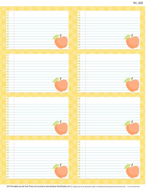 printable school tags free printable multi use labels for school kids teachers