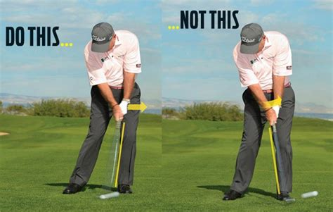 iron golf swing tips butch harmon keys to solid iron strikes golf digest