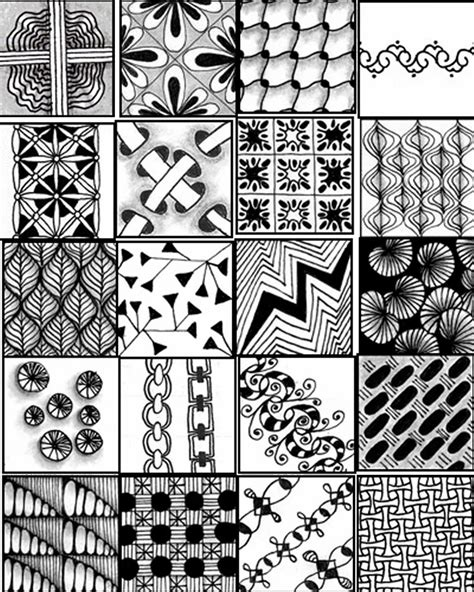 zentangle pattern reference go craft something