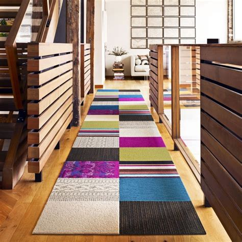 Patchwork Carpet Tiles - these patchwork rug squares by flor bring the room happiness