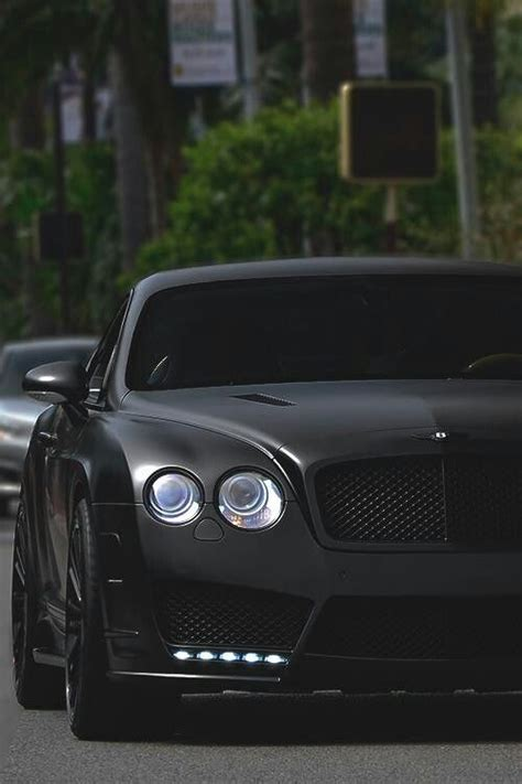bentley all black i cars and my car is a all black bentley it is