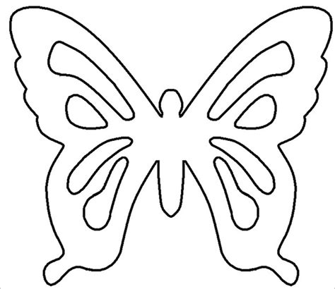 free butterfly templates 13 psd paper butterfly templates designs free
