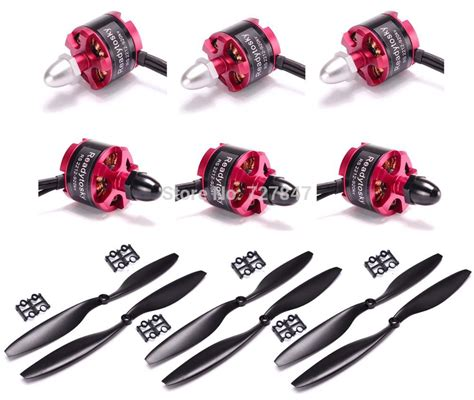 1 Pasang 2212 920kv Brushless Motor Cw Ccw Dji Phantom F330 F450 F550 6pcs 2212 920kv brushless motor cw ccw 3pairs 6pcs 1045 propeller for f450 s500 s550 f550