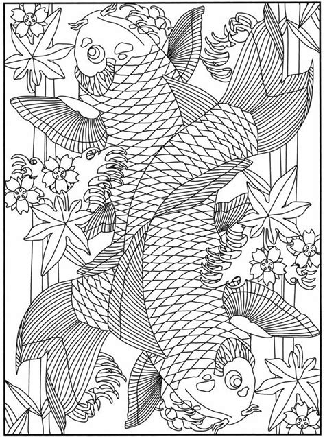 detailed fish coloring pages detailed fish coloring pages coloring home