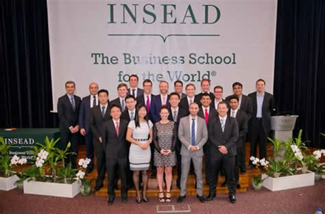 Insead Executive Mba Singapore Fees by Pioneer Class Of The Insead Master In Finance Programme