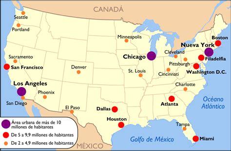 houston mapa estados unidos ciudades de estados unidos turismoeeuu
