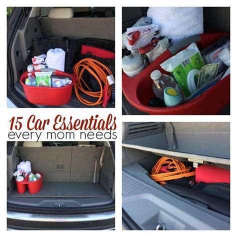 car essentials  mom     passion  savings