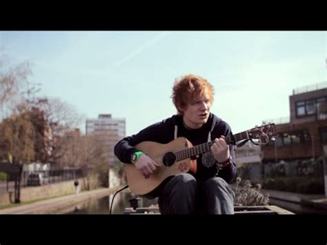 ed on a boat ed sheeran small bump acoustic boat sessions youtube