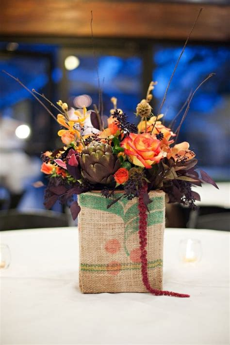 diy fall wedding centerpieces 20 centerpiece ideas for fall weddings