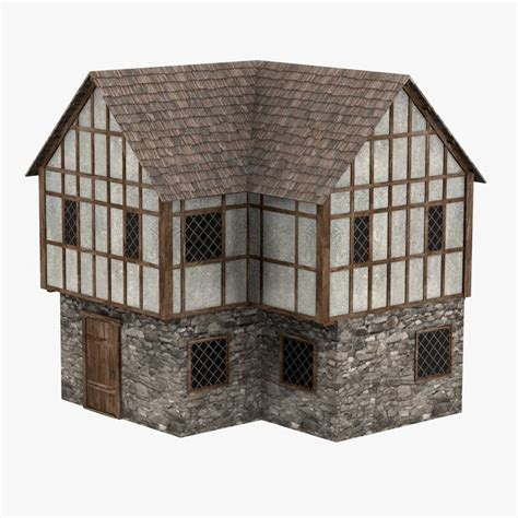 medieval house 3d model medieval house