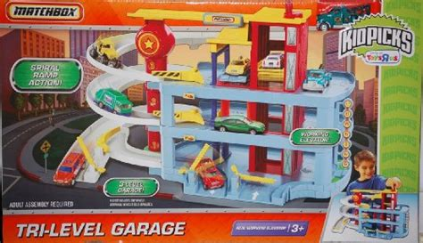 Matchbox Tri Level Garage matchbox tri level garage playset w 1 64 scale die cast