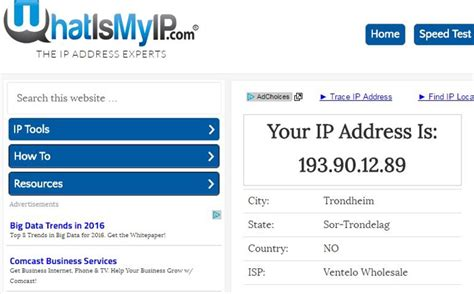Lookup My Ip Address Y Ip Address Korea Facts