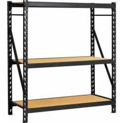 edsal industrial shelving edsal welded steel rack black erz601866pb3 walmart