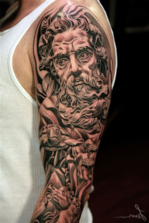 tattoo for black men sleeve designs for black and grey cool