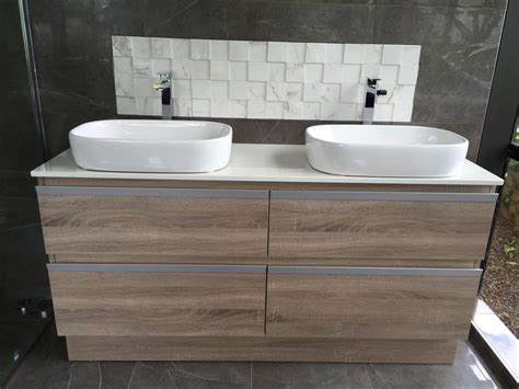 bathroom wall lining nz floorstanding vanity 1500 double basin e027 1500gbb eco