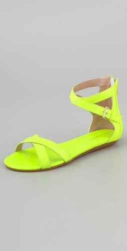neon yellow flat shoes giuseppe zanotti neon lace covered metallic leather ballet