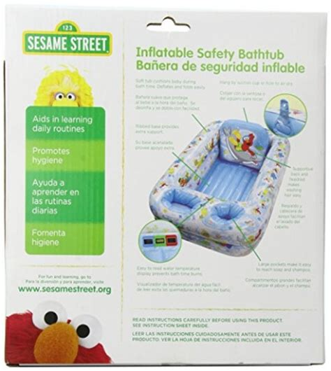 sesame street inflatable bathtub sesame street inflatable bathtub blue white