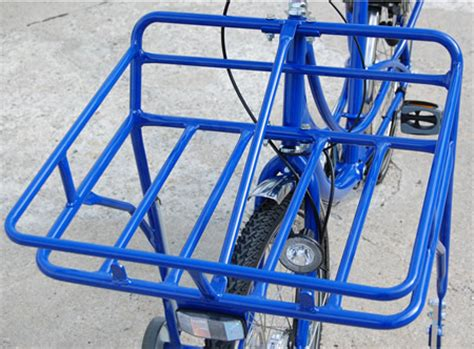 Wheeler Fahrrad Aufkleber by Transportrad Fahrrad Lastenrad Postfahrrad 7 Blau Ebay