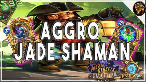 aggro shaman deck hearthstone spo s legend aggro jade shaman