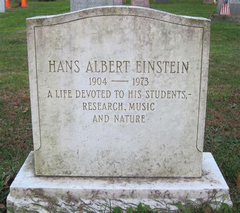 hans albert einstein biography hans albert einstein 1904 1973 find a grave memorial