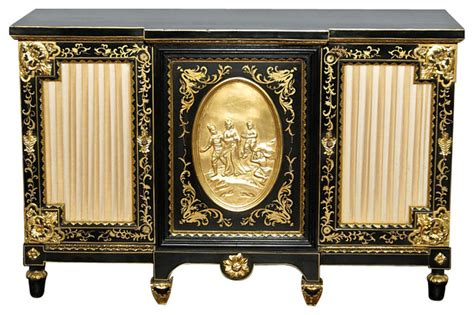 black and gold buffet ls black and gold sideboard images