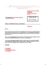 Modèle Lettre De Mise En Demeure De Payer Une Facture Lettre De Mise En Demeure Agence De Recouvrement En