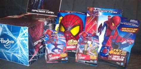 The Amazing Whipping Web Line Hasbro the amazing spider man toys arrive with a thwip ifc