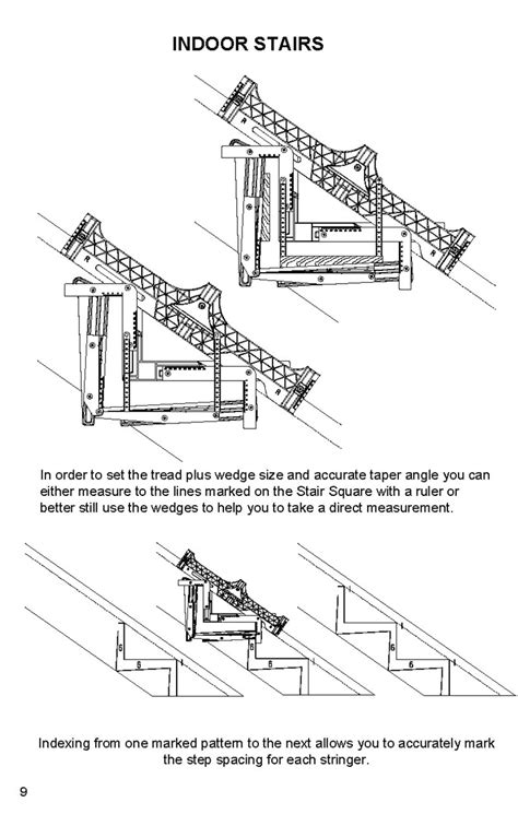 types of layout in building construction stair square staircase stairs layout construction tool
