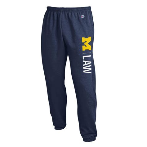 Michigan Gift Card Law - chion university of michigan law school navy sweatpant
