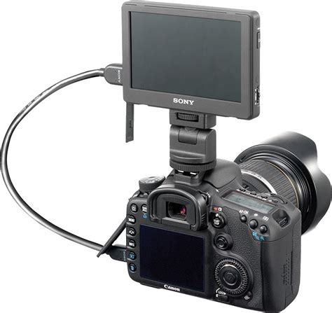 Monitor External Dslr clip on lcd monitor for sony dslr cameras photoxels