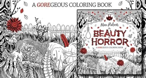 the of horror a goregeous coloring book gift guide 2016 books ebooks and audiobooks