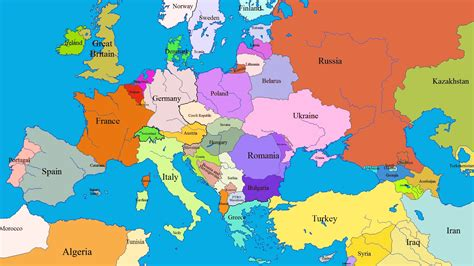 map of europe map europe more photos