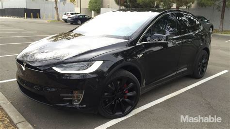 Tesla X Range Tesla Model X Crossover Revealed Has Falcon Doors 2016