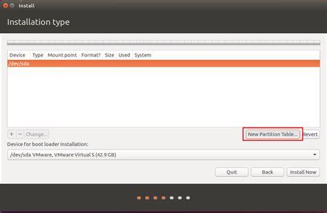 membuat html di ubuntu cara membuat partisi secara manual ketika menginstall