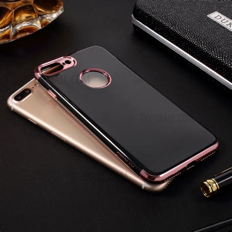 Iphone 7 Plus Casing List Chrome Tpu Soft Cover Casing x fitted plating glossy soft tpu mobile casing for iphone