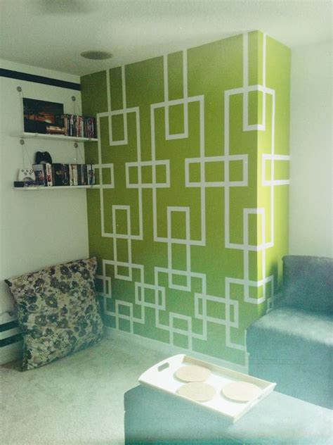 lime green accent wall lime green accent wall in loft kudos to my dad for his
