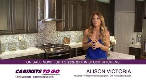 cabinets to go commercial cabinets to go spot featuring alison victoria ispot