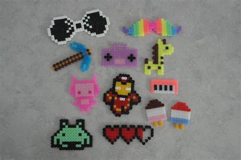 things to do with perler 22 best pixel images on