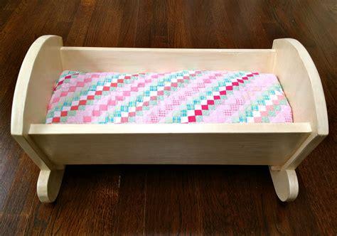 baby doll crib plans that s my letter diy vintage style doll crib