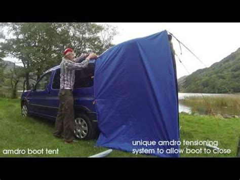 citroen berlingo awning khyam tailgate awning for my citroen berlingo mpv cervan first look setup
