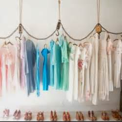 Diy Hanging Clothes Rack by Cool Diy Hanging Clothing Rack Delightful Upcycled Goods
