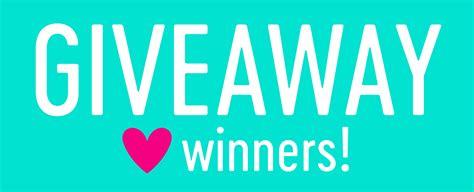 Giveaway Winner - giveaway winners nina marie design