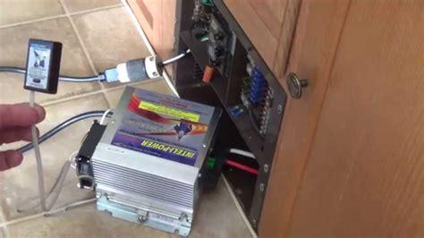 Replacing WFCO converter with Inteli Power 9245 converter