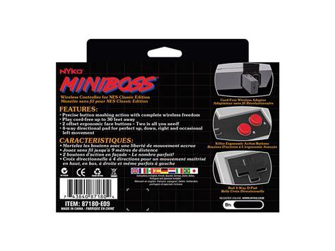 manette nintendo classic mini nes des manettes sans fil d 233 barquent tr 232 s bient 244 t pour la nintendo classic mini nes