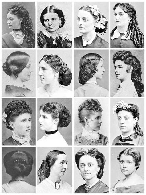 history of hairstyles in usa 84 best 19th century hair images on pinterest historical