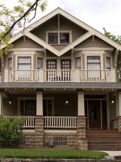 arts and crafts style home 26 popular architectural home styles home exterior