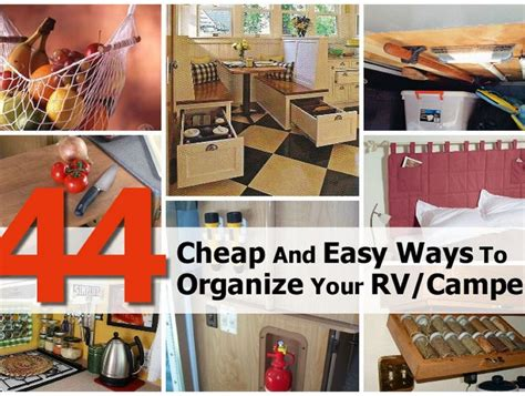 10 easy ideas and designs on how to build a diy daybeds 44 cheap and easy ways to organize your rv cer