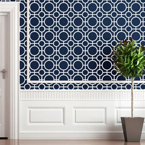 paint templates for walls holmby wall painting stencil stencilease